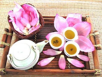 Trà sen - một sản phẩm tinh hoa của người Việt Nam